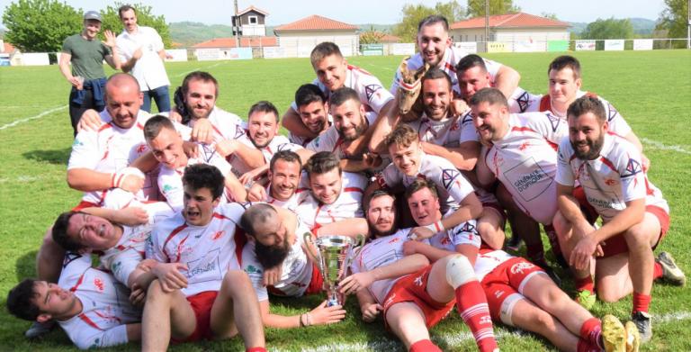 MAGNOAC F.C. champion départemental des réserves